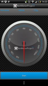 NetMeterProject App Speed-Test
